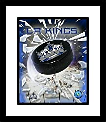 Los Angeles Kings NHL Framed 8x10 Photograph Team Logo and Hockey Puck