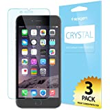 iPhone 6 Plus Screen Protector, Spigen® [Crystal Clear] Full HD [CR] JAPANESE BASE PET FILM High Definition (HD) Premium Ultra Clear Screen Protector for iPhone 6 Plus (2014) - Crystal CR (SGP10873)