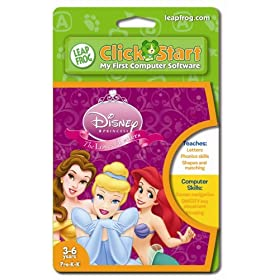 Leapfrog Clickstart Educational Software:Disney Princess, The Love of Letters
