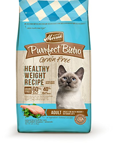 Merrick Purrfect Bistro Grain Free Healthy Weight Recipe