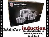 Russell Hobbs 3 Piece Saucepan Set