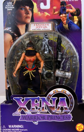 Xena Warrior Princess Harem Xena w/ Pillar of Power Action Figure - 1
