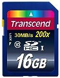 Transcend TS16GSDHC10E - Tarjeta SDHC de 16 GB (clase 10), azul