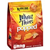 Wheat Thins Popped Chips, Spicy Cheddar, 4.5 Ounce Bag (Pack of 9)