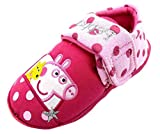 Peppa Pig Girl's Augistine Textile Slippers
