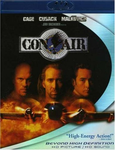 Cover art for  Con Air [Blu-ray]