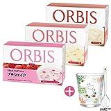 オルビス(ORBIS) 食欲の秋応援!ダイエットシェイク3週間セットA(フレッシュストロベリー味・ミックスピーチ味・みつりんご味、各味100g×7食分) ムーミンタンブラー&スプーン付き 100143