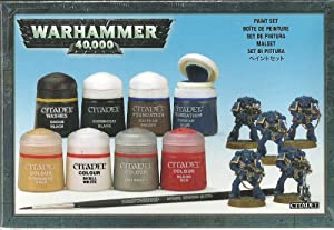 Warhammer 40,000 Paint Set - Games Workshop Miniatures - WH40K