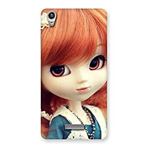 Delighted Tiny Baby Girl Multicolor Back Case Cover for Lava-Pixel-V1