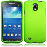 For Samsung©Galaxy S4 S 4 Active i537 i9295 Hard Cover Case Neon Green Accessory