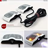 Shadow Car Door Light Laser Slide Projector Ghost Fit For Hyundai Elantra ix35 ix45 TUCSON i30 2 PC