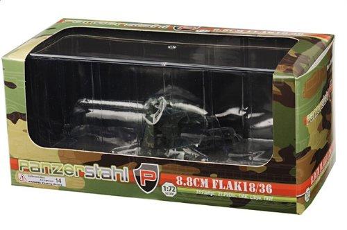 1:72 装甲車stahl ディスプレイ アーマー 88041 クルップ 88mm FlaK 武装 ディスプレイ モデル ドイツ軍 21.PzDiv DAK Libya 1941【並行輸入品】