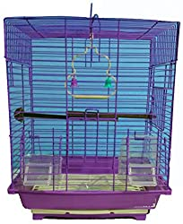 Petshop7 Pet Bird Cage Finchs And Love Birds and Small Birds-Purple