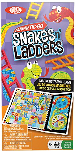 Ideal Magnetic Go Snakes n' Ladders - 1