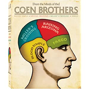 Coen Brothers Collection (Blood Simple/Fargo/Miller's Crossing/Raising Arizona) [Blu-ray]