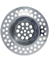 Wenko 4920302100 Jeu de 2 filtres à évier en acier inoxydable 7cm
