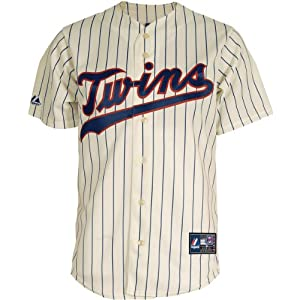 Majestic Athletic Minnesota Twins Harmon Killebrew Replica Alternate Home Ivory by Majestic Athletic