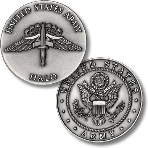 HALO - US Army Challenge Coin