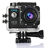Indigi® WiFi 1080P Full HD Helmet Waterproof Sports Action Camera Camcorder Wide Angle Sports DV Cube NEW!