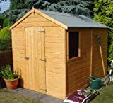 Durham SD Wooden Shed 8ft x 6ft