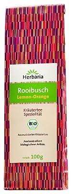 Herbaria Rooibusch Lemon-Orange , 1er Pack (1 x 100 g Tüte) - Bio von Herbaria bei Gewürze Shop