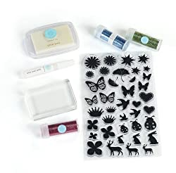 Martha Stewart Crafts Glitter Stamp Starter Kit