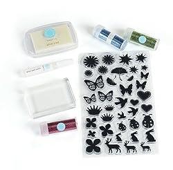 Martha Stewart Crafts Glitter Stamp Starter Kit