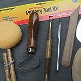 Kemper Pottery Tool Kit: The Original 8-Piece Pottery Tool Set