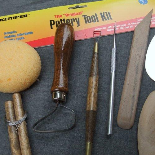 Kemper Pottery Tool Kit: The Original 8-Piece Pottery Tool Set (Pottery Tool Set compare prices)