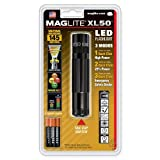 MAGLITE XL50-S3016 LED Flashlight, Black