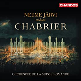 Neeme Jarvi conducts Chabrier