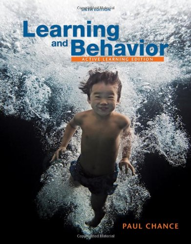 Learning and Behavior: Active Learning Edition (PSY 361...