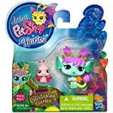 Littlest Pet Shop Fairies Glistening Garden Enchanted Figure Tulip Fairy With Lady Bug
