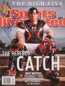 Buy Matt Wieters autographed Sports Illustrated Magazine (Baltimore Orioles) by Autograph Warehouse