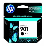 HP 901 (CC653AN) Black Original Ink Cartridge ~ HP