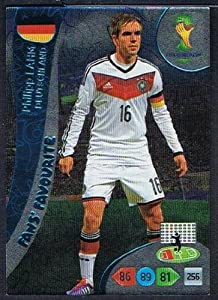 FIFA World Cup 2014 Brazil Adrenalyn XL Philipp Lahm Fans Favourite