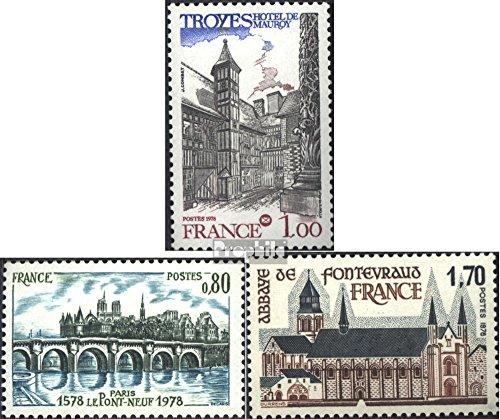 France 2100,2101,2103 (complète.Edition.) 1978 timbres spéciaux (Timbres pour les collectionneurs)
