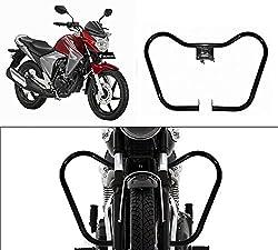 Speedwav Bike Safety Leg Guard BLACK-Honda CB Dazzler