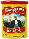 Newmans Own Organics Organic California Raisins, 15-Ounce Cans (Pack of 6)