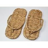 竹皮草履25cm