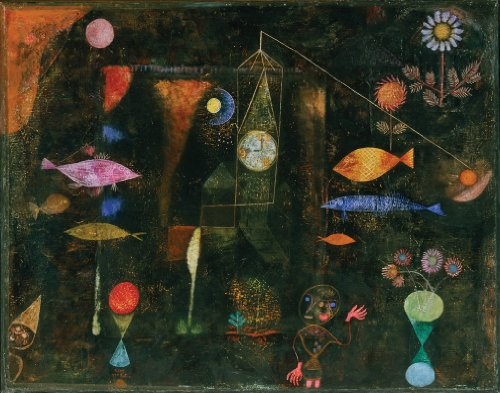 Paul Klee Fish Magic Wooden Jigsaw Puzzle