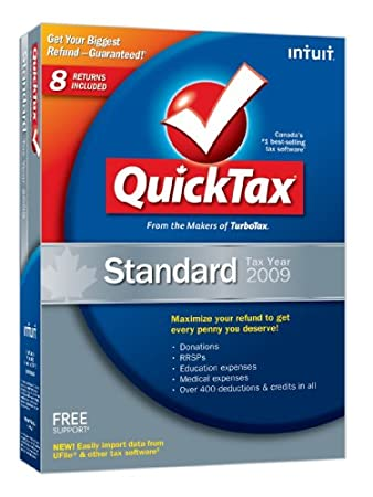 QuickTax Standard 2009 [Old Version]