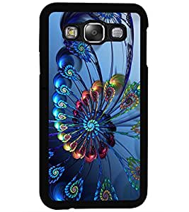 ColourCraft Printed Design Back Case Cover for SAMSUNG GALAXY E5