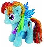 TY - Peluche My Little Pony Microperle Arc en Ciel 17cm