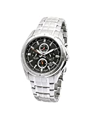 Casio Edifice Multi Dials EF-328D-1A5VDF (ED374) Men's Personalized Watch