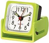Travel Smart by Conair Travel Alarm Clock, Lime