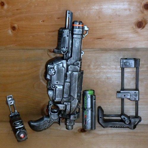 Imágenes de Steampunk victoriana pistola Nerf N-Strike Vortex Praxis