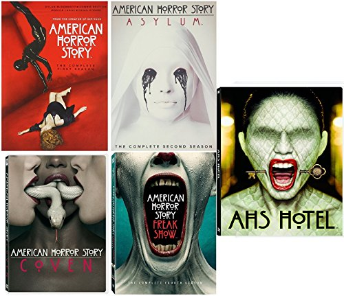 American Horror Story : Complete Collection, DVD (Series Seasons 1-5, 1,2,3,4,5 Bundle) USA Format Region 1