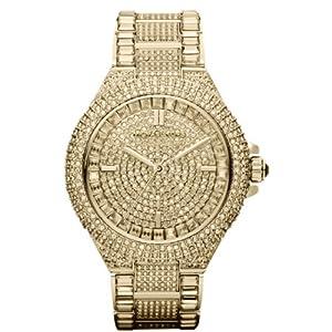 Michael Kors MK5720 43mm Gold Steel Bracelet & Case Mineral Women's Watch