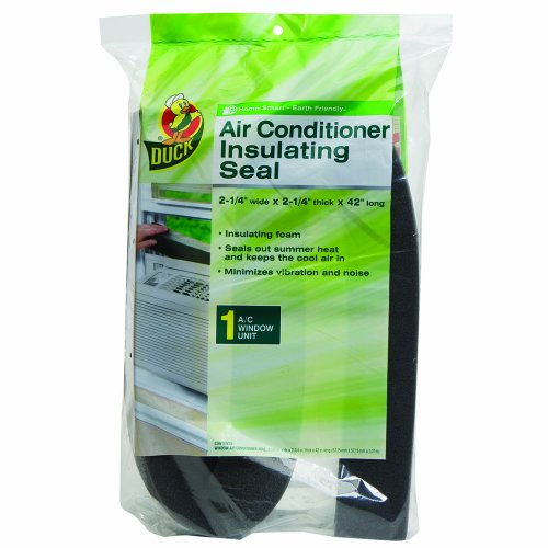 Dunk Brand 1284075 Window Air Conditioner Insulating Strip Seal, 2-1/4-Inch By 2-1/4-Inch By 42-Inch, Gray